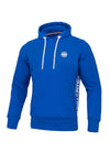 Hooded Small Logo FRENCH TERRY Royal Blue - pitbullwestcoast