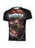 RASHGUARD PERFORMANCE MESH WIRED SKULL - pitbullwestcoast