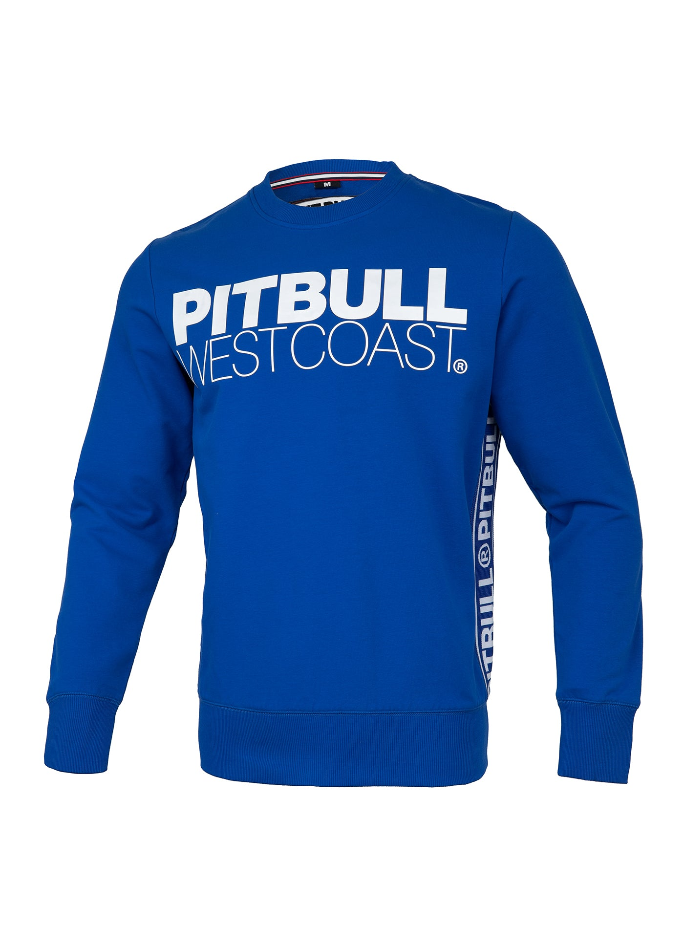 HOODED /'TNT/' FRENCH TERRY PIT BULL WEST COAST ROYAL BLUE .