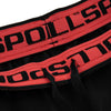 Mens Performance Shorts Black/Red - pitbullwestcoast
