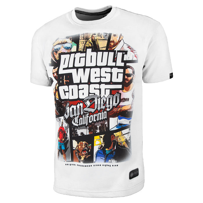 Most Wanted Pit Bull West Coast T-Shirt