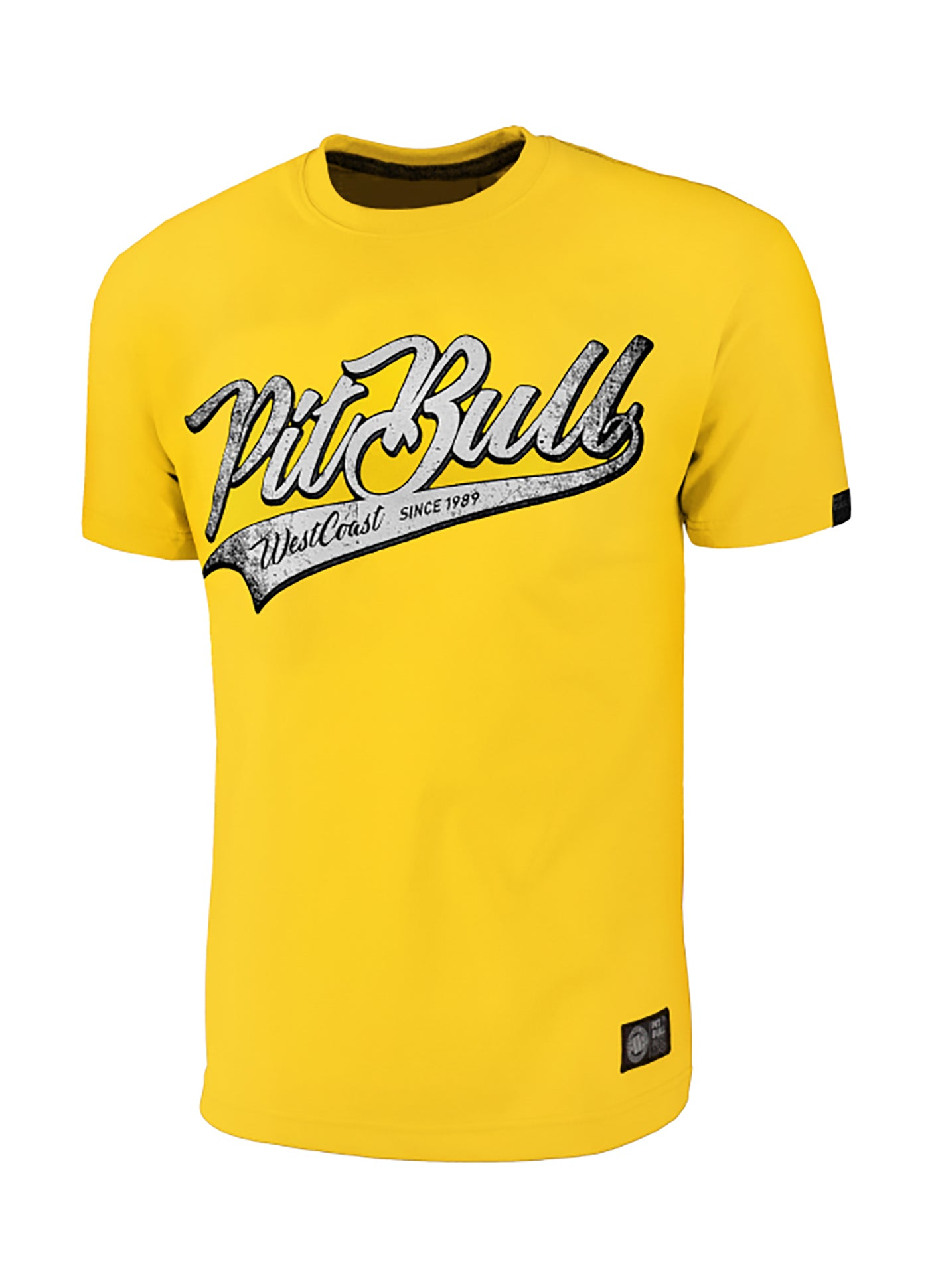 T-Shirt San Diego Dog Yellow - pitbullwestcoast