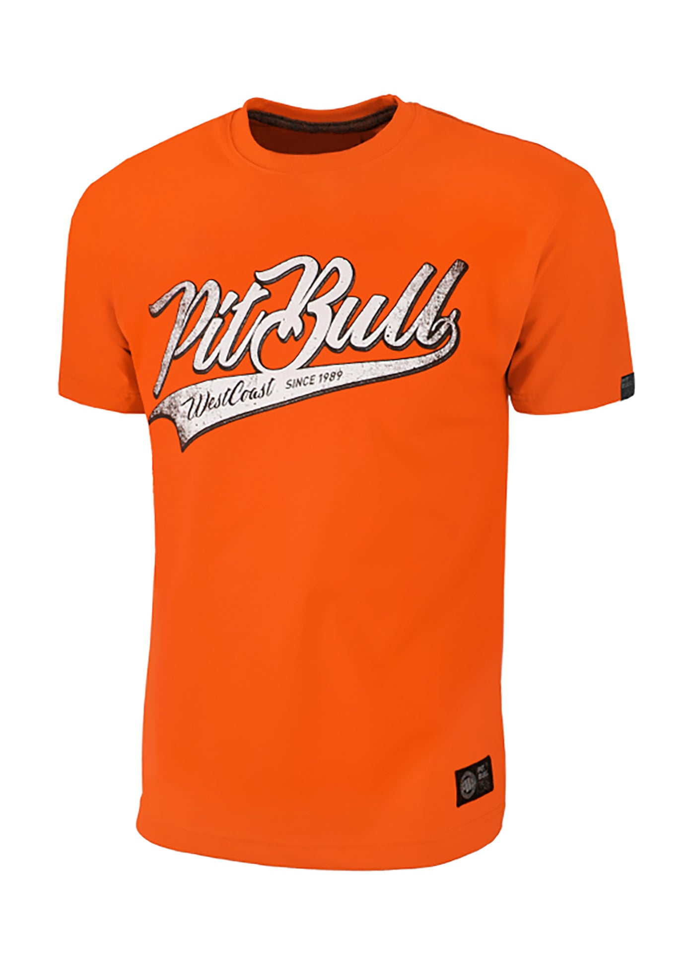 T-Shirt San Diego Dog Orange - pitbullwestcoast