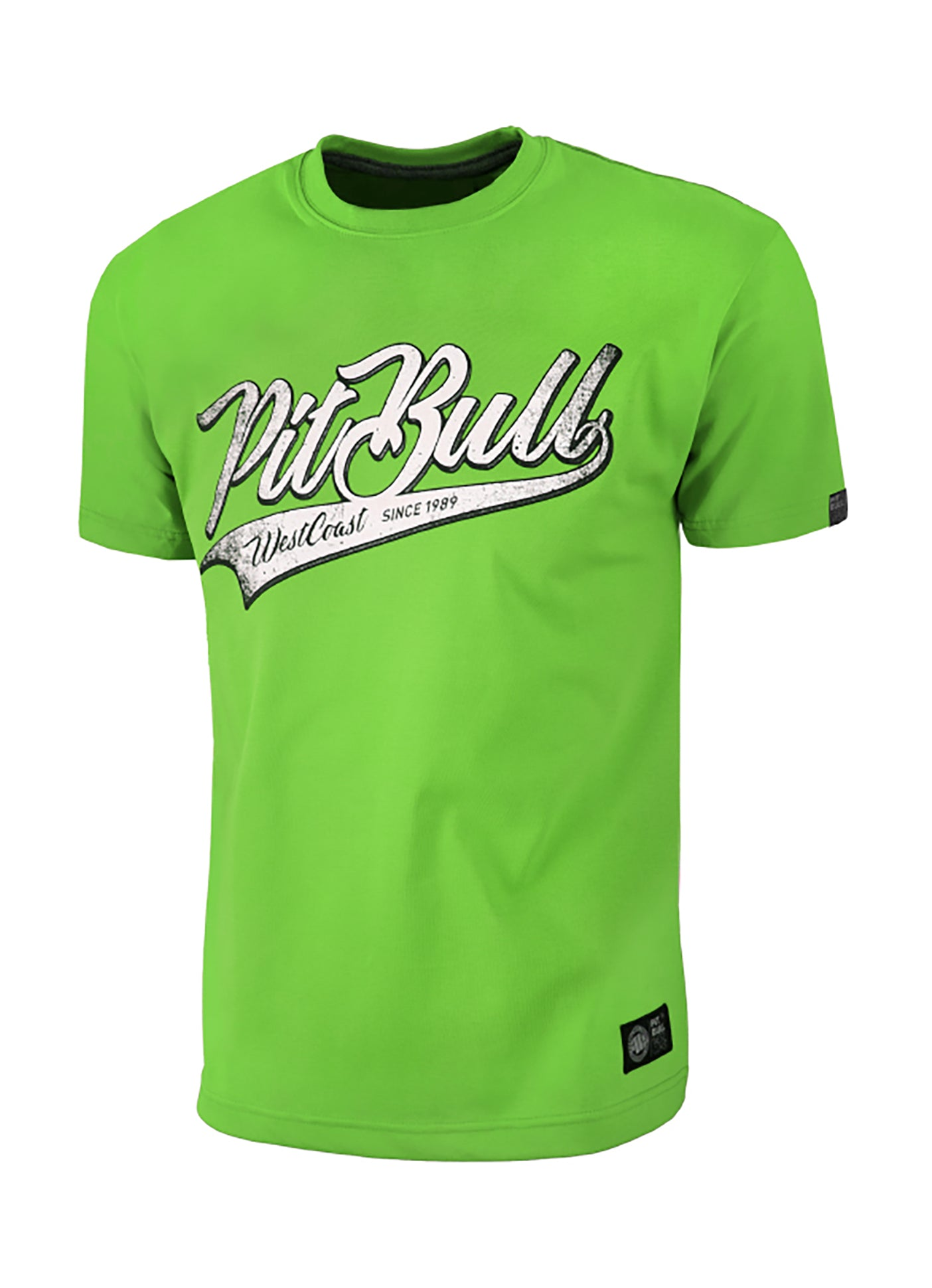 T-Shirt San Diego Dog Green - pitbullwestcoast