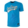 T-Shirt SAN DIEGO Surfer Blue - pitbullwestcoast