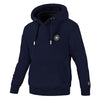 pit bull west coast hoodie small logo dark navy