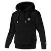 pit bull west coast hoodie small logo black