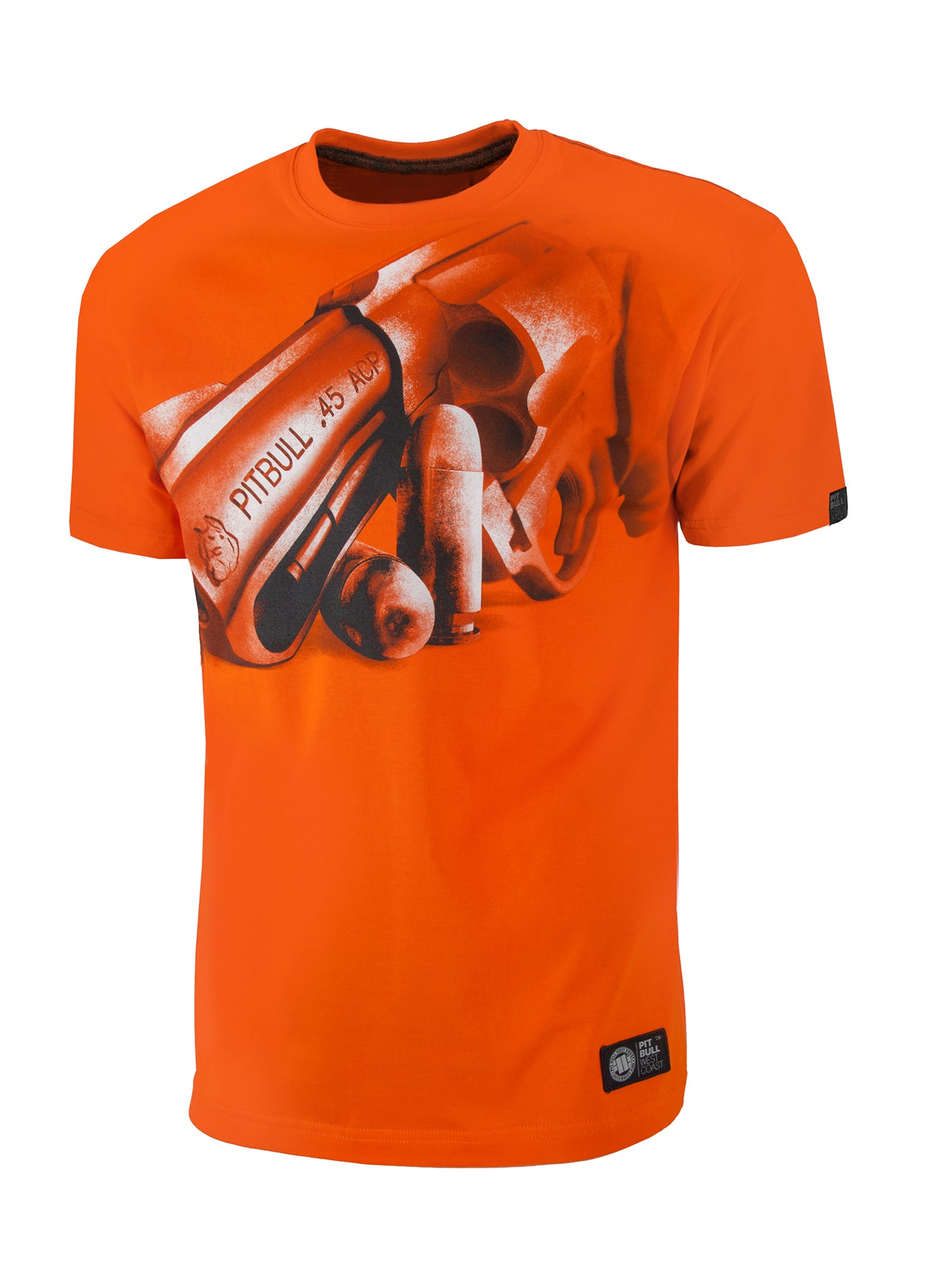 T-shirt So Cal 45 Orange - pitbullwestcoast