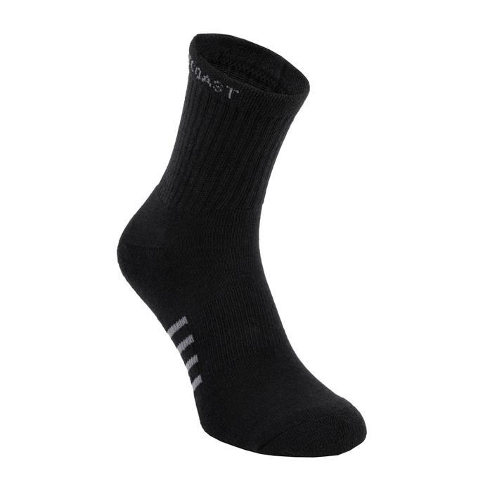 High Ankle Thin Socks 3pack Black - pitbullwestcoast