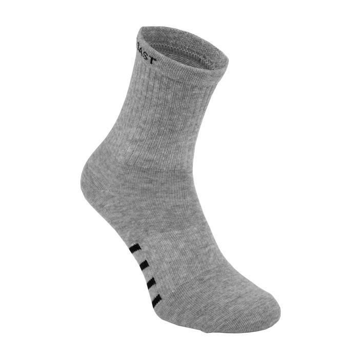 High Ankle Thin Socks 3pack Grey - pitbullwestcoast