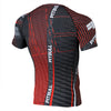 pitbull west coast rashguard charger red