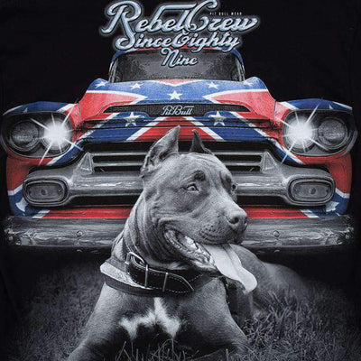 T-SHIRT REBEL CAR