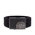 Webbing Belt Logo Black - pitbullwestcoast