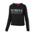 Women ATHLETICA Crewneck Black - pitbullwestcoast