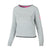 Women ATHLETICA Crewneck Grey - pitbullwestcoast