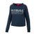 Women ATHLETICA Crewneck Dark Navy - pitbullwestcoast