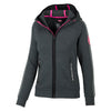 Women MONROE Zipped Hoodie Charcoal - pitbullwestcoast