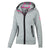 Women MONROE Zipped Hoodie Grey - pitbullwestcoast