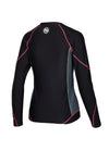 Women Longsleeve Rashguard Compression PRO PLUS Pink - pitbullwestcoast