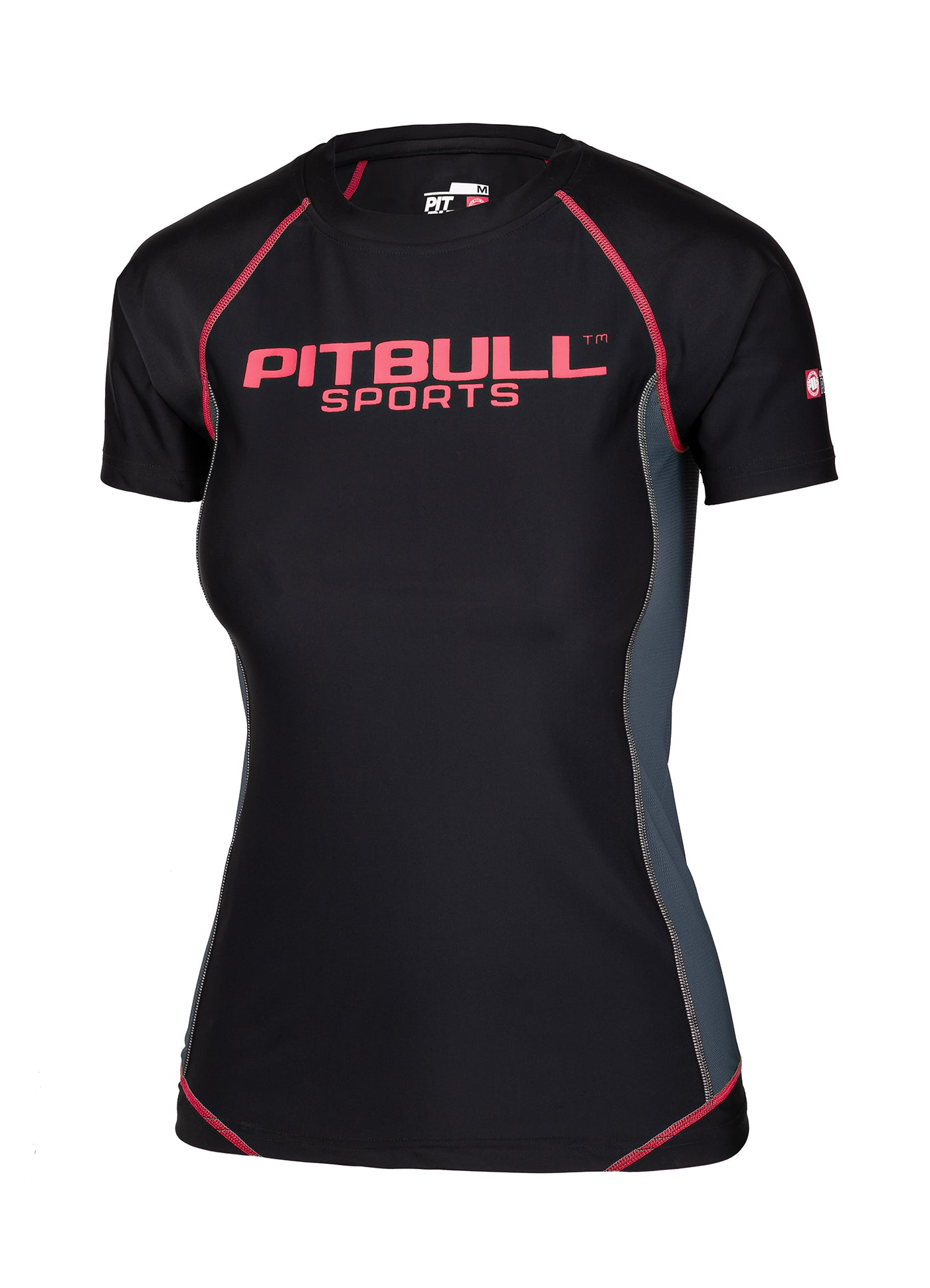 Women's Rashguard Compression PRO PLUS Pink - pitbullwestcoast