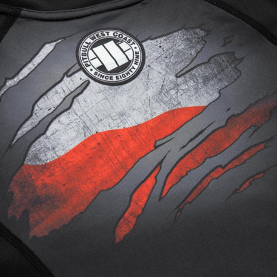 WOMEN RASHGUARD  PERFORMANCE MESH POLSKA - pitbullwestcoast