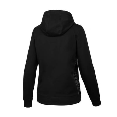 Women hooded 'Small logo' FRENCH TERRY