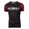 Red Ray Short Sleeve Rashguard
