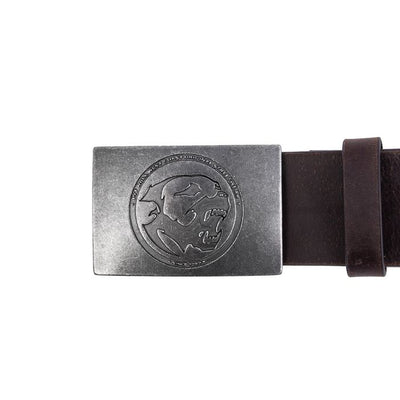Leather Belt BONES - pitbullwestcoast