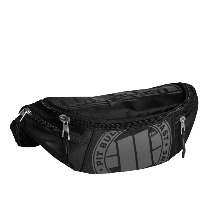 Big Waistbag Logo Black / Grey