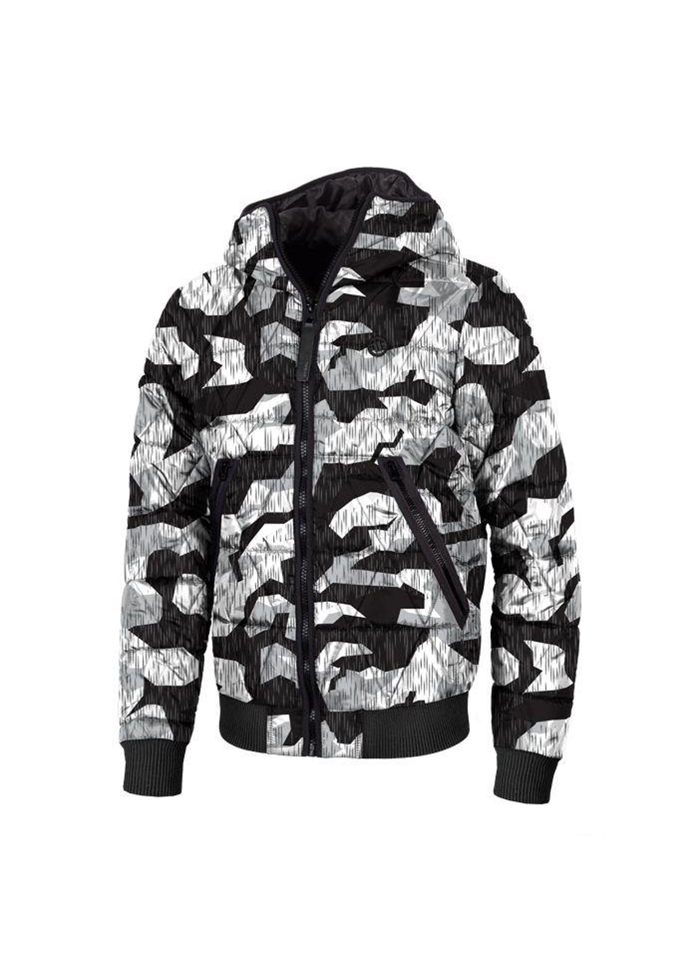 Winter Jacket Buttler B/W Camo from Pitbull West Coast strore UK