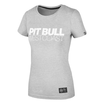 pit bull west coast women t-shirt seascape grey