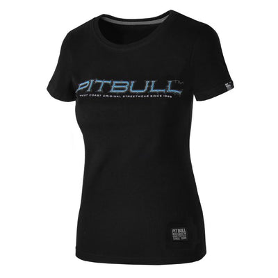 Blue Eyed Devil Woman T-shirt - pitbullwestcoast