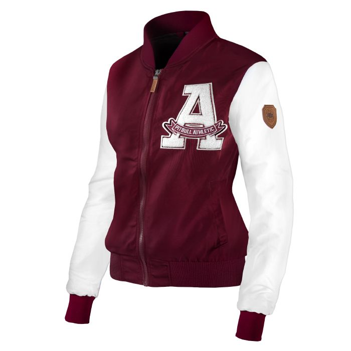 Women's Jacket SORENTO Burgundy - pitbullwestcoast