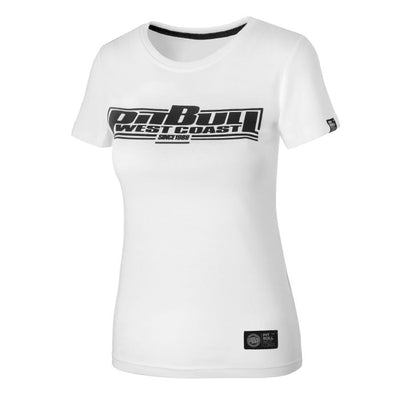 pit bull west coast women collection t-shirt boxing white