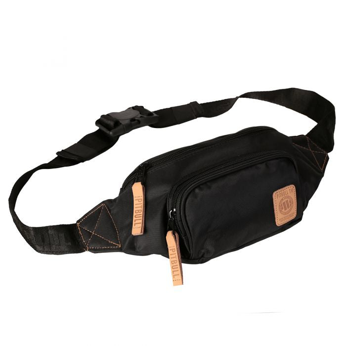 Pit Bull West Coast Waistbag Small Logo Black