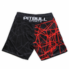 Grappling Shorts Mesh Red Rey - pitbullwestcoast