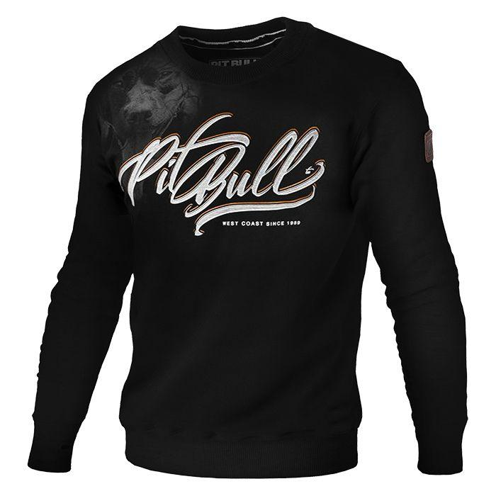 pitbull west coast sweatshirt Eyes of the dog black
