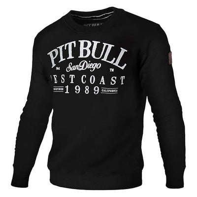 pitbull west coast player crewneck