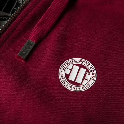 Hooded Zip Small Logo Sweatshirt 18