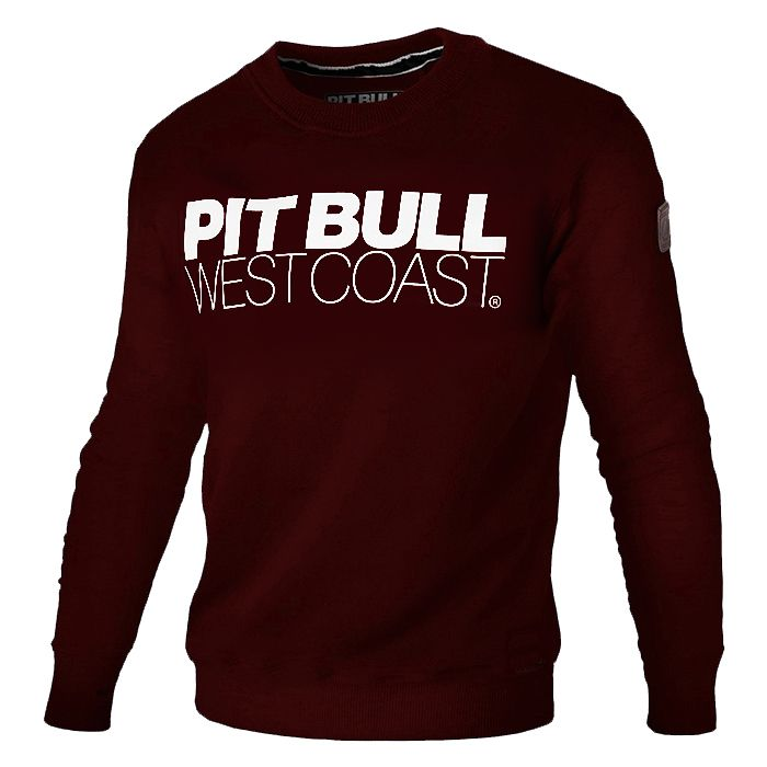Crewneck TNT 18 Burgundy - pitbullwestcoast