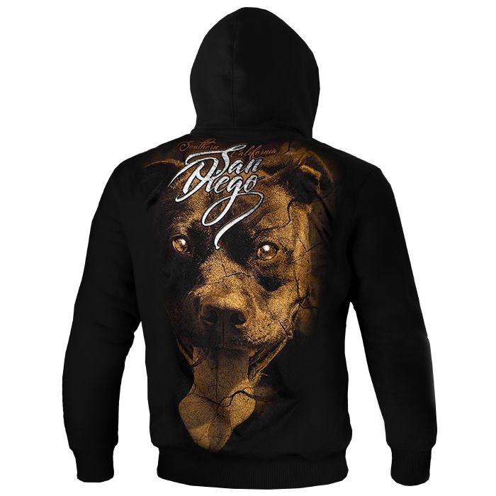"""Eyes Of The Dog"" Hooded"