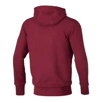 Hooded Small Logo Sweatshirt 18 Burgundy