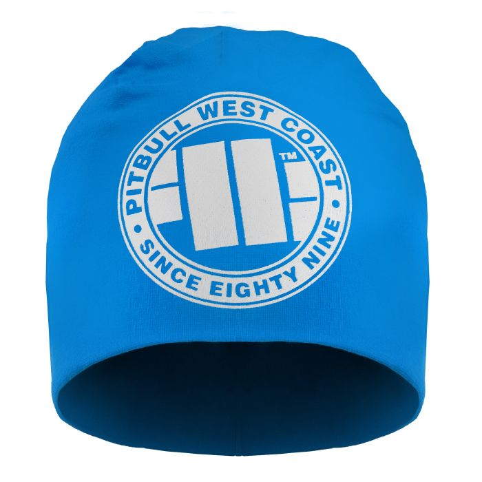 Beanie BIG LOGO Blue - pitbullwestcoast