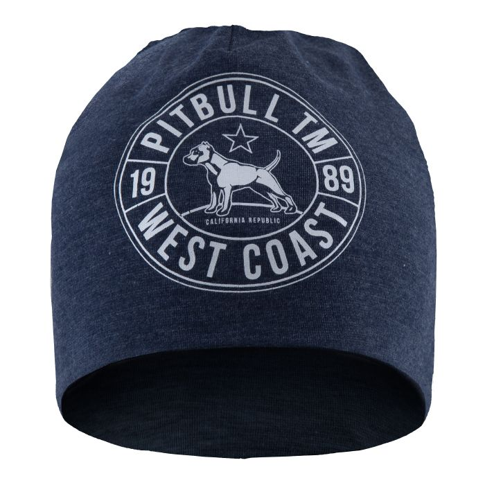 Beanie CAL FLAG Dark Navy - pitbullwestcoast