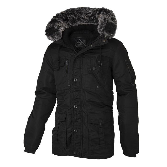 Winter Jacket ROWCLIFF Black - pitbullwestcoast