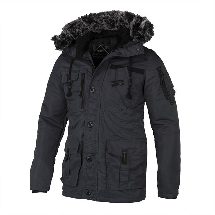Winter Jacket ROWCLIFF Grey - pitbullwestcoast