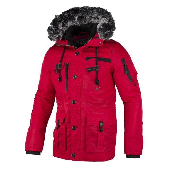 Winter Jacket ROWCLIFF Red - pitbullwestcoast