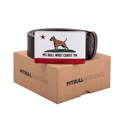 Leather Belt CALIFORNIA DOG