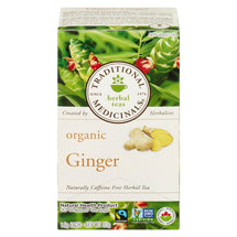 TRADITIONAL MEDICINALS ORGANIC GINGER TEA 20UN