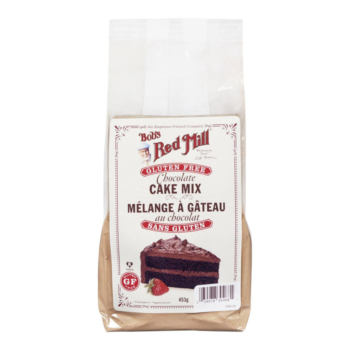 BOBS RED MILL CAKE MIX GLUTEN FREE CHOCOLATE 453 G